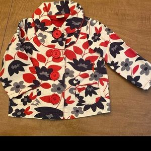 Babystyle 18/24 month floral jacket
